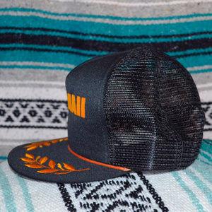 de210f696df Accessories - Hawaii Gold Leaf Bill Trucker Hat